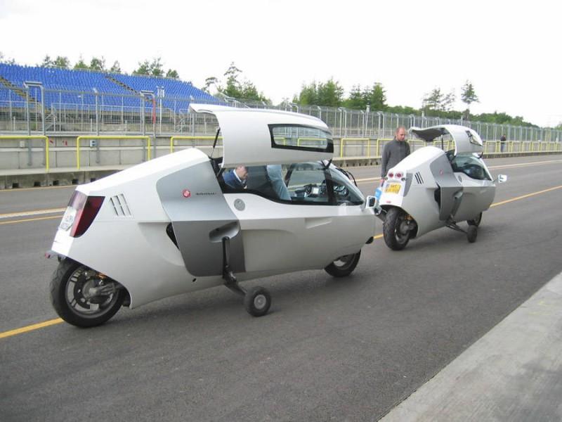 Monotracer全封闭式的摩托车售近60万 摩托车库 图库 全球摩托车网