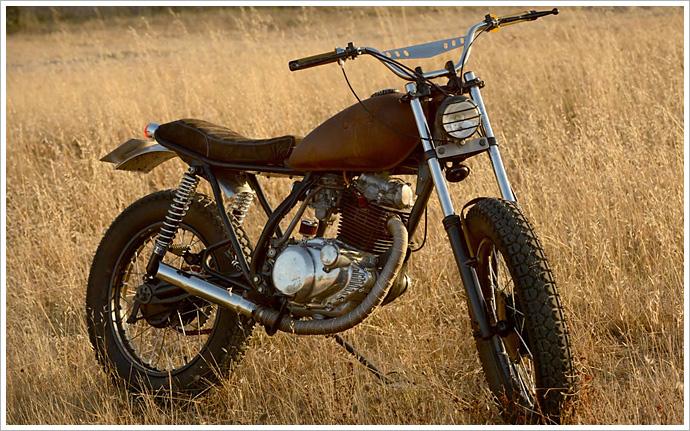 雅马哈1981 yamaha sr 250 - la raíz motorcycles