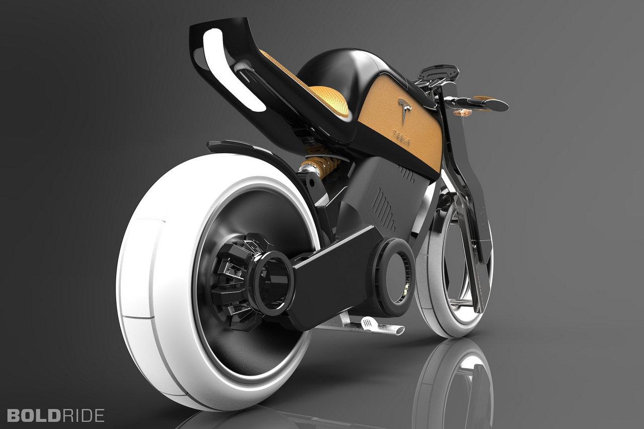 电动汽车资讯网_特斯拉(Tesla)的电动两轮概念车_新车新品_资讯中心_全球摩托车网