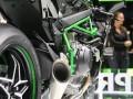 2014年德国科隆摩托车展:Kawasaki展台新车H2R (222播放)