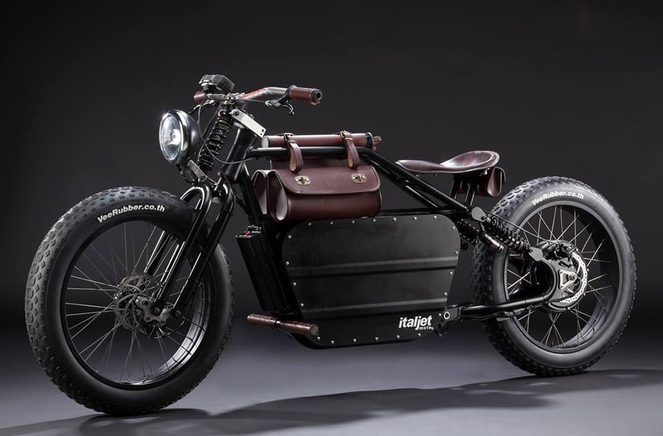 意塔杰特italjet mantra 电动摩托车