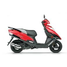 豪爵铃木红宝UM125T /UM125T-A 踏板摩托车
