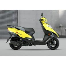 豪爵铃木红宝UM125T-C 踏板摩托车