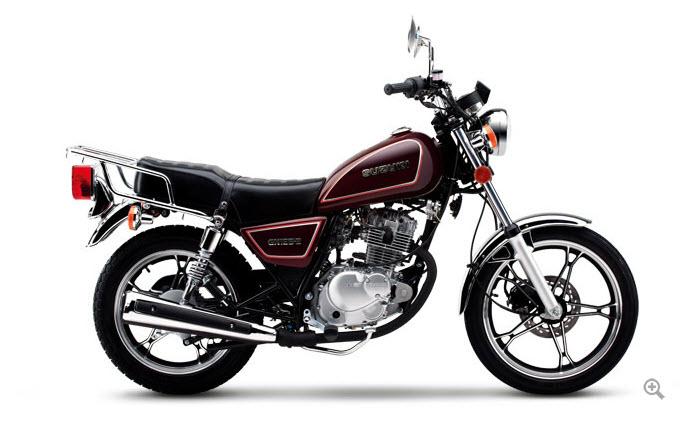豪爵铃木太子车gn125-2 摩托车