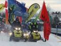 首届雪地摩托车越野赛:海拉尔上演雪地上的速度与激情