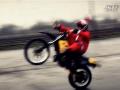 2015 CHRISTMAS 圣诞老人骑摩托车特技表演 (305播放)