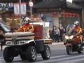 便携式消防摩托车上街巡逻 (141播放)