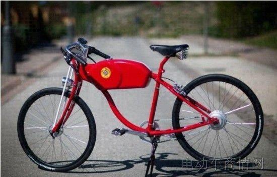 西班牙打造新款复古电动自行车