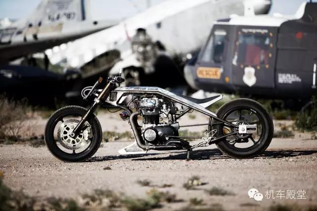 """时速320公里的喷气推进摩托车""""sportjet"""""""