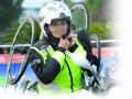 环太湖赛特别风景线:她是唯一的女摩托车手