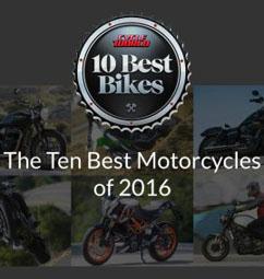 2016年度世界十佳摩托车