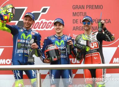 2017 MotoGP 阿根廷站——马奎兹退赛,维纳莱斯两连冠