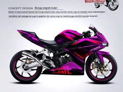 印尼 Honda CBR250RR 填色大赛作品集(1)