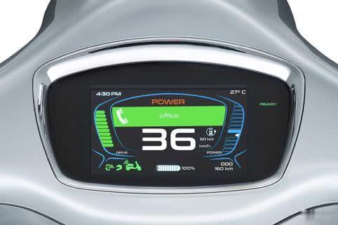 VESPA推出油电混动摩托车续航里程可达200公里