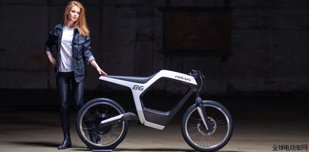 Novus轻量级电动摩托车