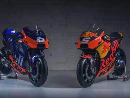 KTM发布2019赛季战车,蓝色KTM横空出世!