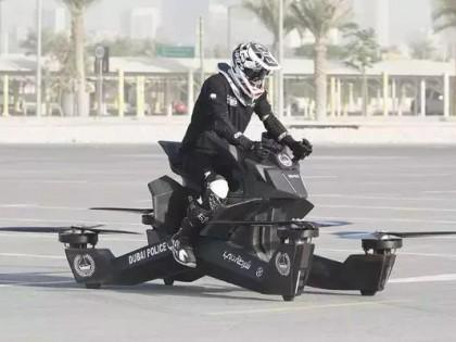 兰博基尼警车之后,迪拜又给警察换上了飞行摩托车!