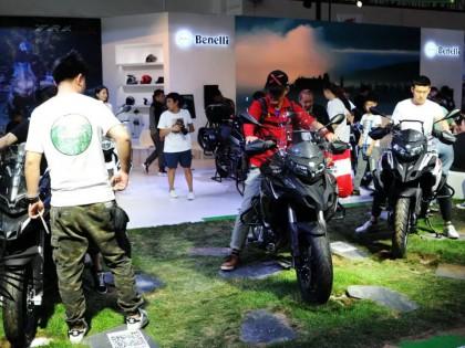 2019 北京车展:贝纳利的展台(探险车篇)