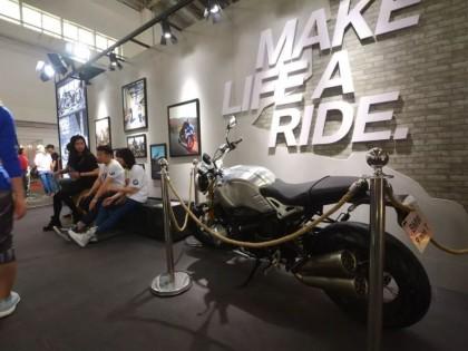 2019北京国际摩托车展:各种的进口车