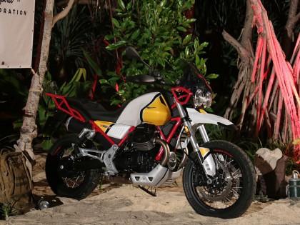 初识荒漠雄鹰,与Moto Guzzi V85 TT相遇在安达曼海岸!