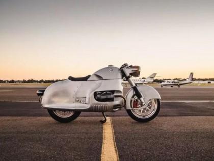 复古的空气动力之美,宝马R100 RS大改造