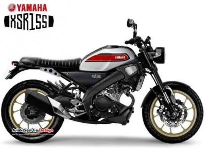雅马哈XSR家族新成员,XSR155将于近期发布!