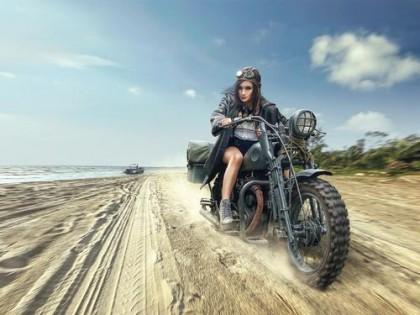 摩托车课堂:摩托车很危险,但是却比汽车安全?