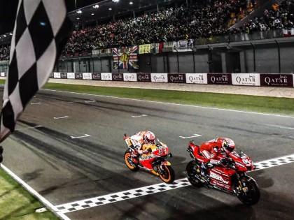 MotoGP 2019 赛季:最后一圈的决胜