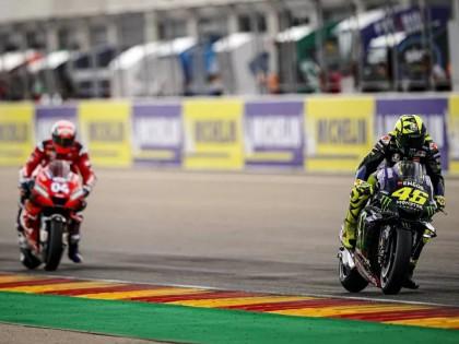2019 MotoGP 阿拉贡站:受后轮抓地力困扰的 Yamaha