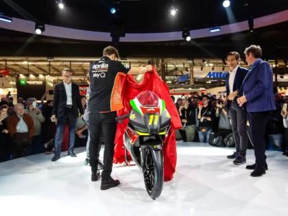 阿普利亚展示全新的 RS250 SP 赛车