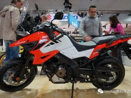 2019米兰车展:铃木发布2020新款V-Strom 1050/XT