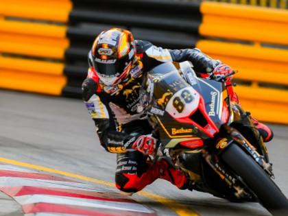 赫尔文夺得澳门格兰披治摩托车—第五十三届大赛正赛的杆位