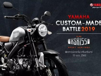 泰国 Yamaha XSR155 改装大赛作品集