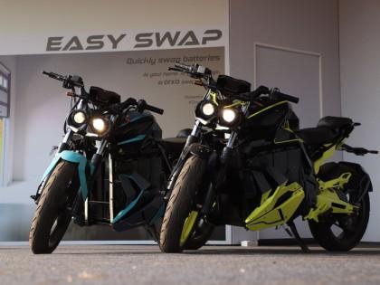 2019年印度摩托车周 惊现螳螂电动摩托车
