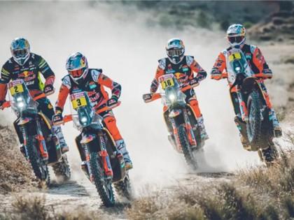 决战2020达喀尔,KTM冠军天团出征!