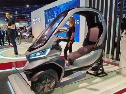 小牛发布首款自动驾驶电动三轮摩托车