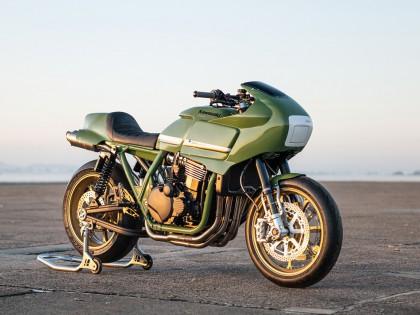 极致绿色:DEBOLEX的改装作品 川崎ZRX1200R