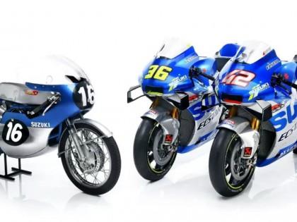MotoGP 2020:纪念图案的 Suzuki 工厂赛车 GSX-RR