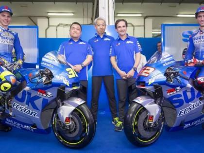 2020款SUZUKI Ecstar MotoGP Team 来自1962年的银蓝