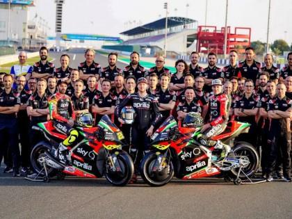 2020 MotoGP:Aprilia阿普利亚工厂车队、新的 RS-GP