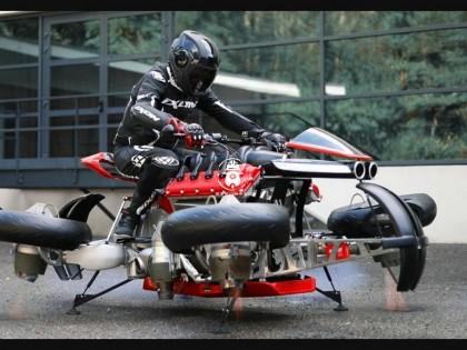 法国飞行摩托车今年正式交付 售价约合400万人民币