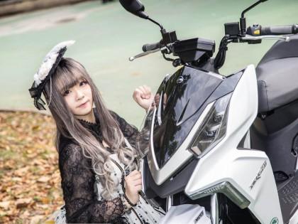 当颜值遇上颜值:SYM DRG 158与台湾美女Coser的故事