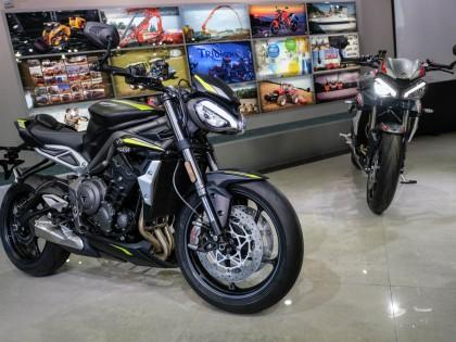 凯旋Street Triple 765RS台湾上市 售价16.5万人民币