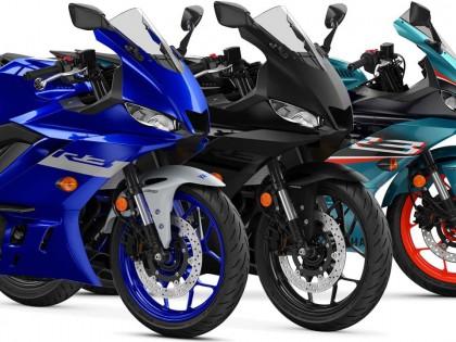 雅马哈YZF-R3 2021版发布 加入非主流的电青色