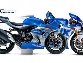 Suzuki 创立一百周年纪念图案 GSX-R600、750