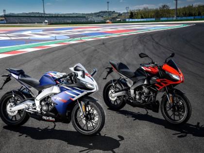 阿普利亚发布新一代的 RS125、Tuono 125