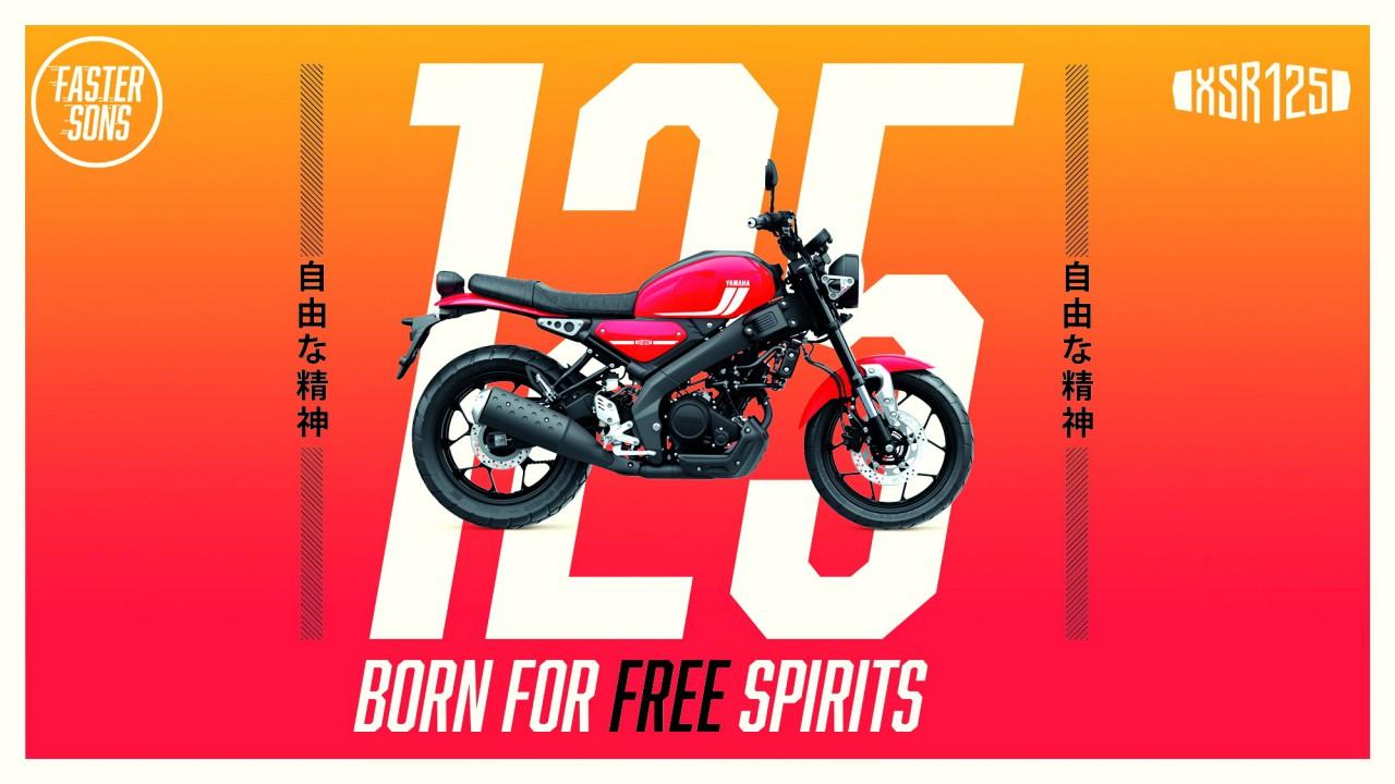 Yamaha 2021 XSR125 欧洲版 户外特写