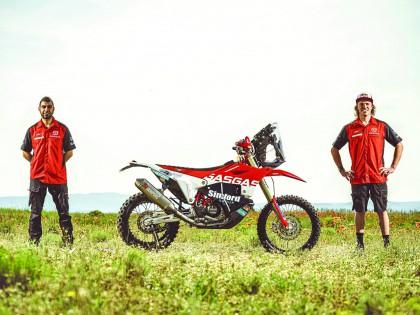 GasGas 2021 Rally 拉力工厂车队