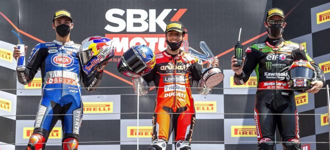 2021 WSBK世界超级摩托车锦标赛第三站——意大利站